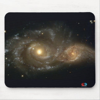 Galaxy Encounter Mouse Pad