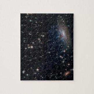 Galaxy ESO 137-001 Puzzle