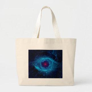 Galaxy Eye Canvas Bags