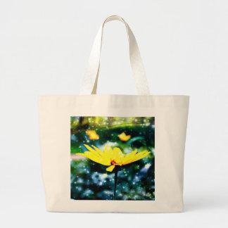Galaxy Flower Tote Jumbo Tote Bag