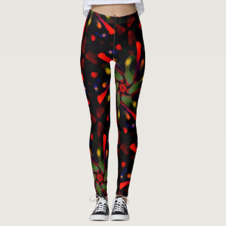 Galaxy Flowers! LEGGINGS