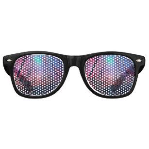 Galaxy Forest Retro Sunglasses