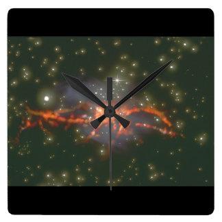 Galaxy. (galaxy;space;stars;c_Space Scenes Wallclocks