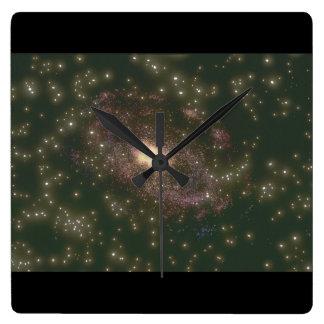 Galaxy. (galaxy;space;stars;colo_Space Scenes Clocks