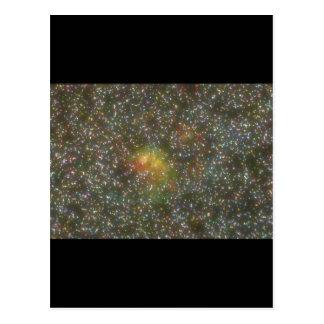 Galaxy. (galaxy;space;stars;color_Space Scenes Postcard