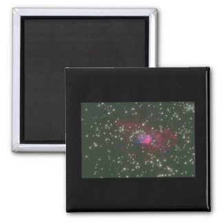 Galaxy. (galaxy;space;stars;color_Space Scenes Square Magnet