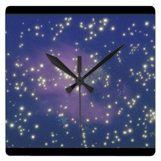 Galaxy. (galaxy;space;stars;color;_Space Scenes Wall Clocks