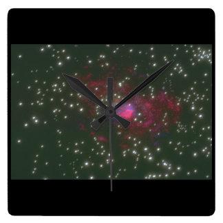 Galaxy. (galaxy;space;stars;color_Space Scenes Wallclocks