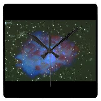Galaxy. (galaxy;space;stars;nebula_Space Scenes Clocks