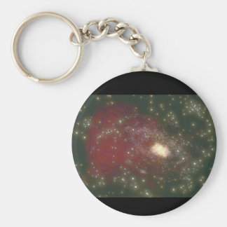 Galaxy. (galaxy;space;stars;_Space Scenes Basic Round Button Key Ring