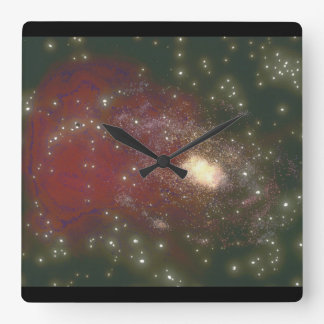 Galaxy. (galaxy;space;stars;_Space Scenes Clock