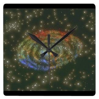 Galaxy. (galaxy;space;stars;_Space Scenes Wall Clock