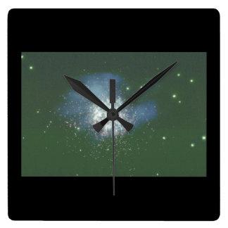 Galaxy. (galaxy;space;stars;_Space Scenes Wall Clocks
