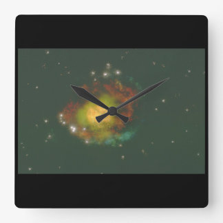 Galaxy. (galaxy;stars;planets_Space Scenes Wall Clocks