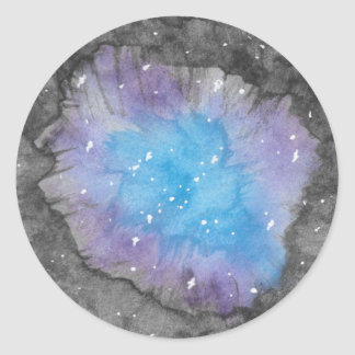 Galaxy Geode Stickers
