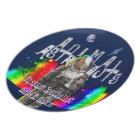 Galaxy Goat Animal Astronaut Plate