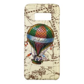 Galaxy Hot Air Balloon on Zodiac Sky Add Name Case-Mate Samsung Galaxy S8 Case