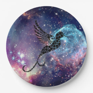 Galaxy Hummingbird plate