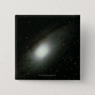 Galaxy in Andromeda 15 Cm Square Badge