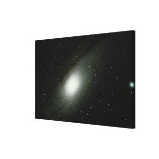 Galaxy in Andromeda Canvas Prints