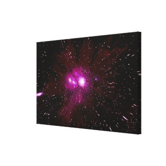 Galaxy in Space Canvas Print