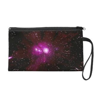 Galaxy in Space Wristlet Purse
