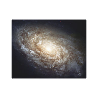 Galaxy in spiral canvas prints