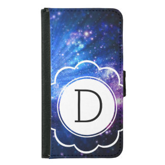 Galaxy Initial Samsung Galaxy S5 Wallet Case