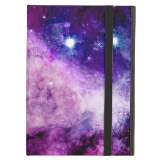 Galaxy iPad Air Cover Stars Nebula Purple Pink