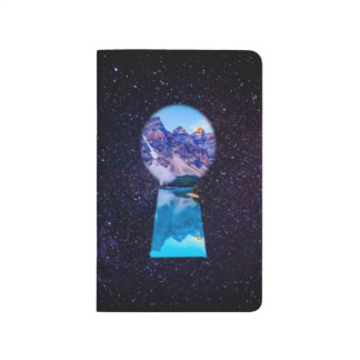 Galaxy Keyhole Illusion Nature Journal