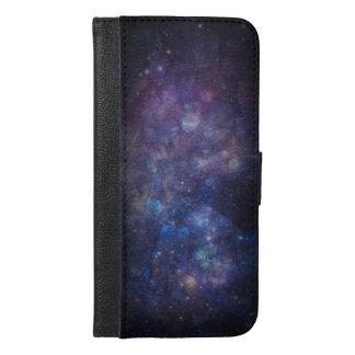 Galaxy Labradorite Space Wallet Smartphone Case