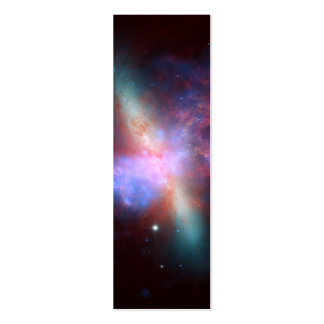 Galaxy M82 Hubble NASA Business Card Template