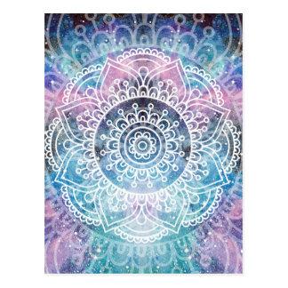 Galaxy Mandala Postcard