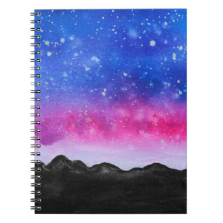 Galaxy Mountain Notebook