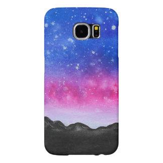 Galaxy Mountain Samsung Galaxy S6 Cases