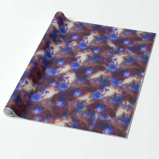 Galaxy Nebula Astronomy Space Wrapping Paper