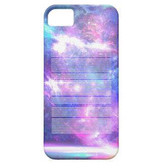 Galaxy nebula stars LINES iPhone 5 Cases