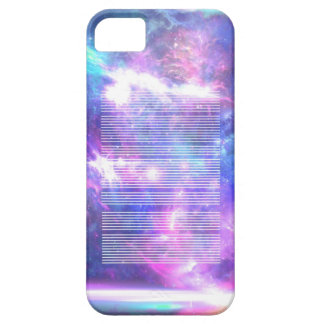 Galaxy nebula stars LINES iPhone 5 Cover