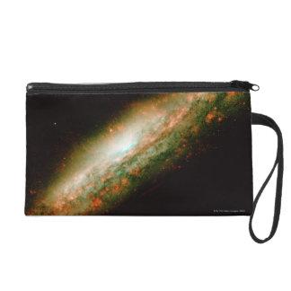 Galaxy NGC 3079 Wristlet Clutch