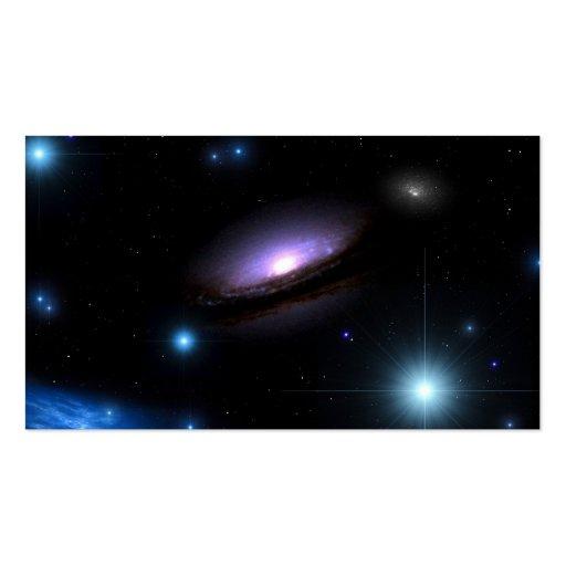 Galaxy NGC 4526 - Business Card Templates