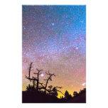 Galaxy Night Personalized Stationery