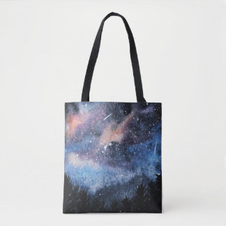 Galaxy Night Sky Tote bag
