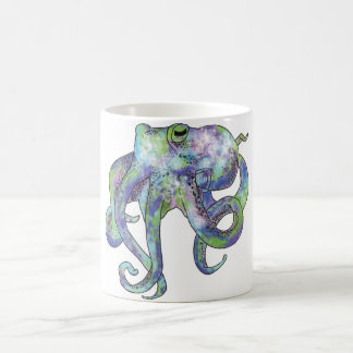 Galaxy Octopus Coffee Mug