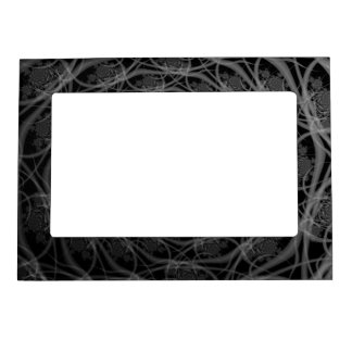 Galaxy of Filaments in Black and White Frame