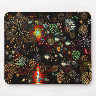 Galaxy of Fireworks Collage 12 13 2010 2859a Mouse Pad