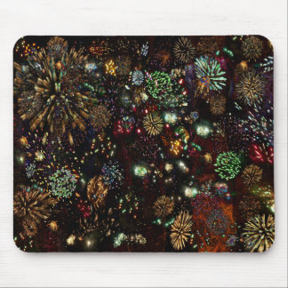 Galaxy of Fireworks Collage 12 13 2010  2859b Mouse Pad