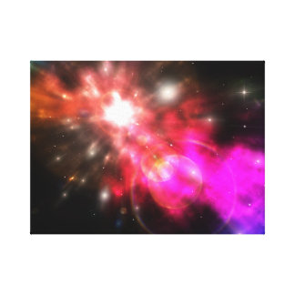 Galaxy of Light Gallery Wrapped Canvas