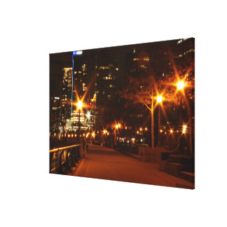 Galaxy of Light Wrapped Canvas Stretched Canvas Print