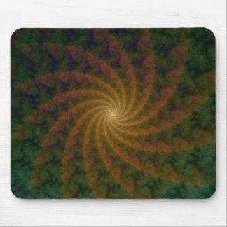 Galaxy of Spirals Mousepad