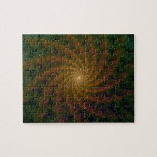 Galaxy of Spirals Puzzle